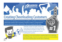Creating Cheerleading Customers