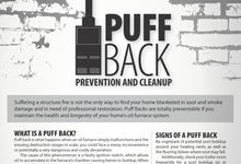 Puff Back: Prevention and Cleanup