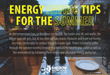 Energy Saving Tips for the Summer