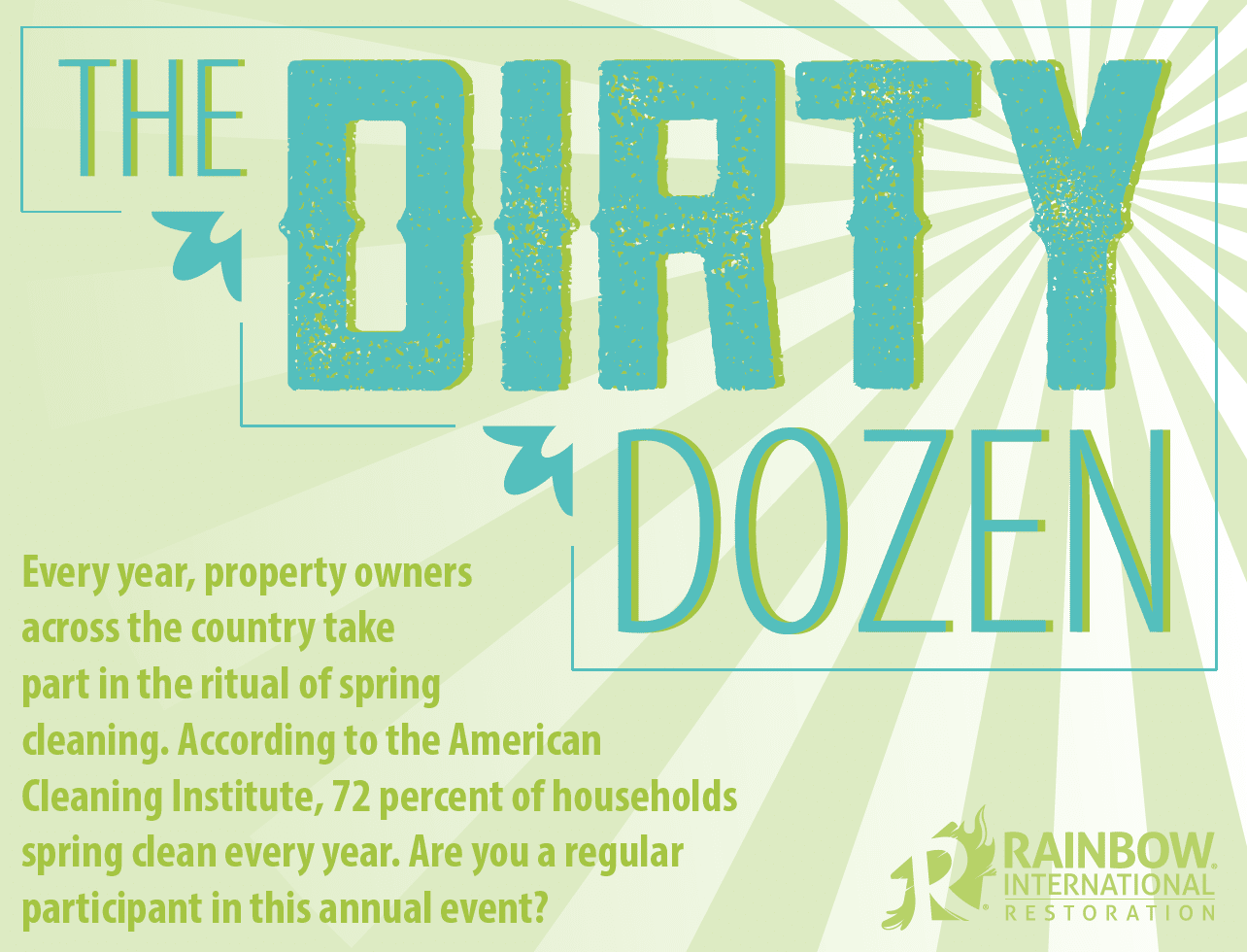 Spring Cleaning: The Dirty Dozen