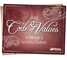 Using the Code of Values to Manage a Successful Business