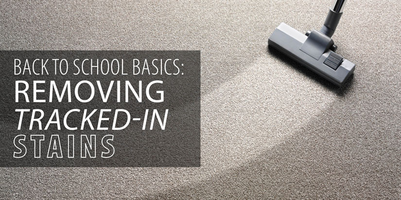 Back to School Basics: Removing Tracked-in Stains