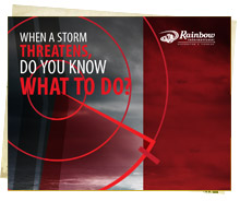 When A Storm Threatens, Do You Know What To Do?