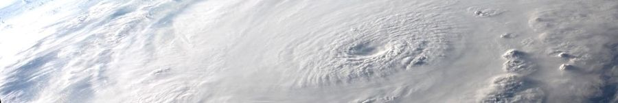 Hurricane Image from Above