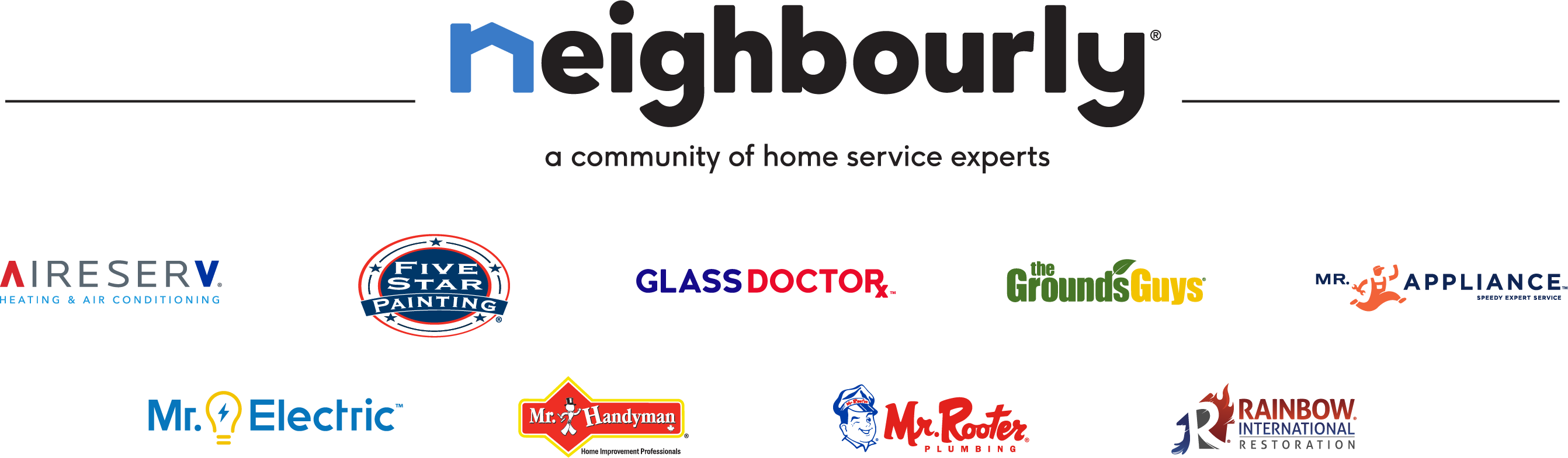 Neighbourly™ Brand Logos
