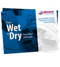 Successful Water Damage Restoration Using Rapid Structural Drying