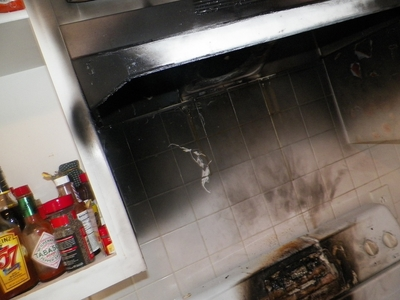 Alamance County Kitchen Cabinet Fire