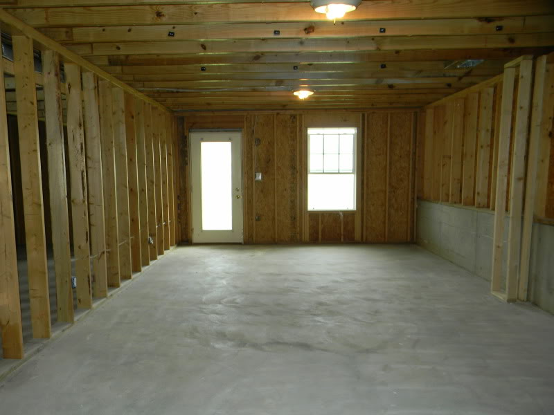 Drywall removed to correct mold damage