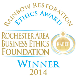 2014 Rochester Business Ethics Award Winner