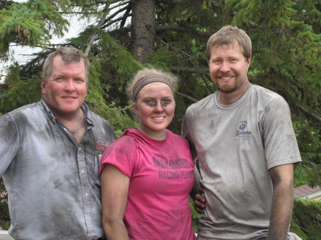 Picture of the team at Rainbow International of The Twin Ports Region covered in soot.