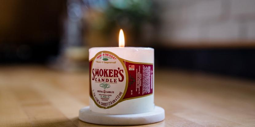 What is a smoker's candle, and do they actually work? Here's the scoop on smoke-eater candles, and how to really get rid of smoke smells in your house - for good.