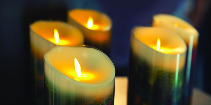 When you are using scented candles, be sure to be cautious of the effects this can have on your air and on the soot it puts out.