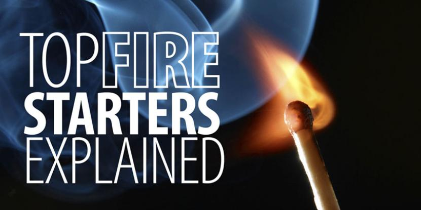 Common fire starters