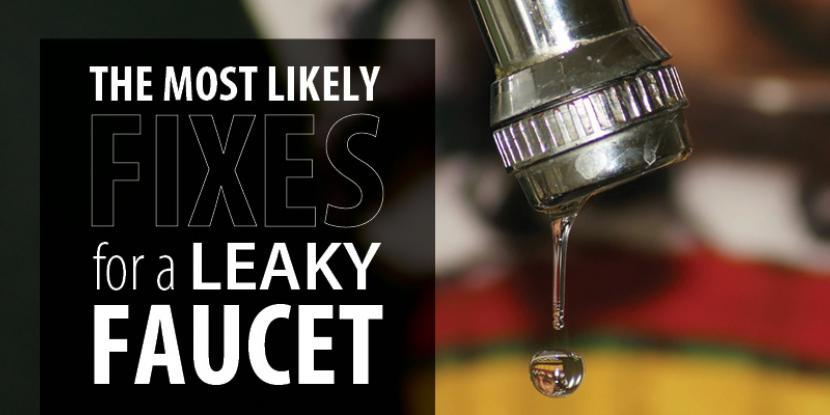 Leaky Faucet Fixes