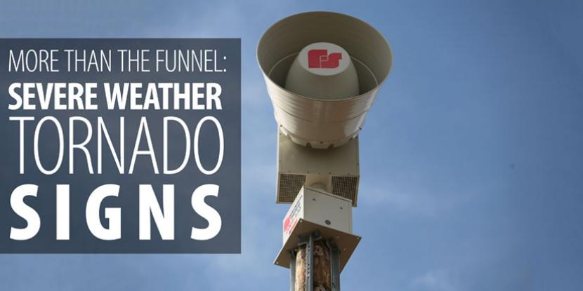 More Than The Funnel Severe Weather Tornado Signs