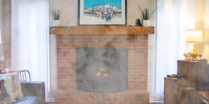 Why does your fireplace smoke up the house? These tips from Rainbow International will get your fireplace and home ready for crackling winter fires.