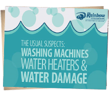 The Usual Suspects: Washing Machines, Water Heaters & Water Damage