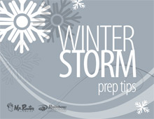 Winter Storm Prep Tips
